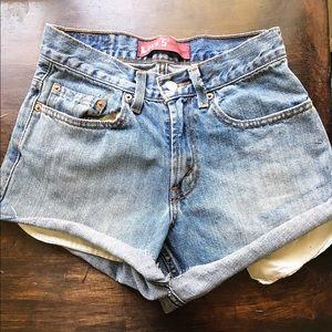 Levi's high-rise Jean Shorts